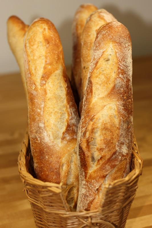 baguette recette de baguette