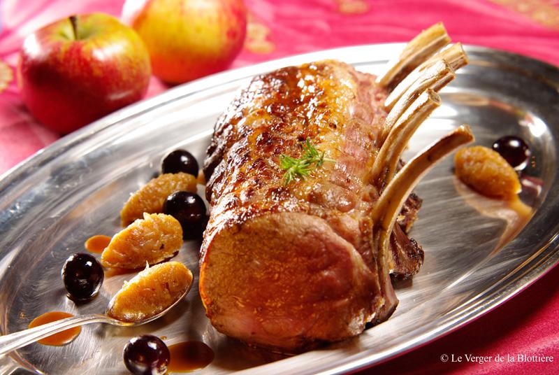 carr de veau au chutney de pomme antar s recette de carr de veau au chutney de pomme antar s. Black Bedroom Furniture Sets. Home Design Ideas