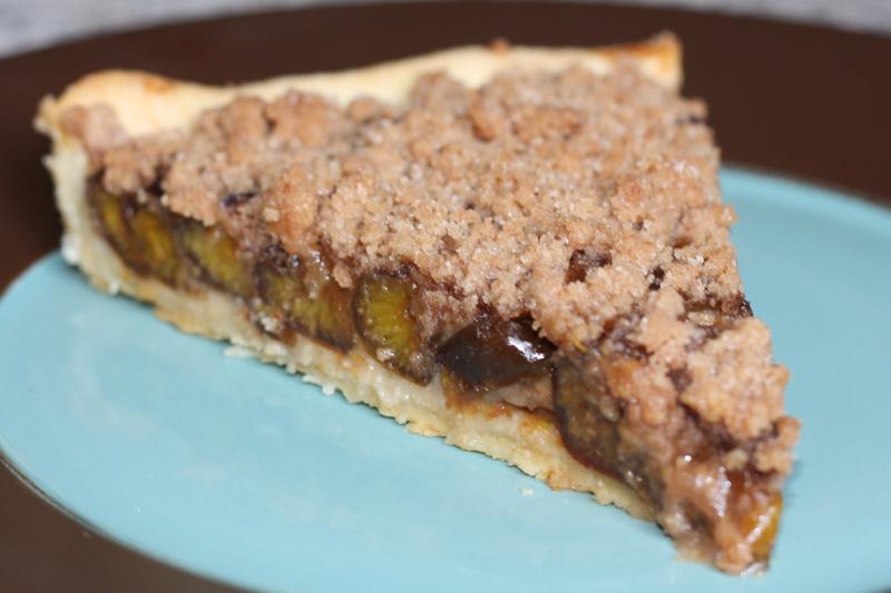 tarte aux quetsches crumble recette tarte aux quetsches et streusel. Black Bedroom Furniture Sets. Home Design Ideas