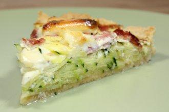 Tarte A La Courgette Et Fromage Blanc Recette De Tarte A La